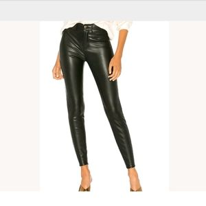 Free People 24 Vegan Faux Leather Pant Skinny